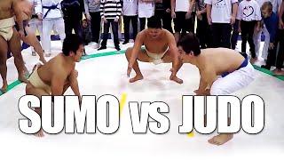 Sumo vs Judo - Throwdown