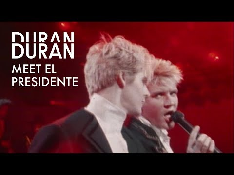 "Duran Duran - ""Meet el Presidente"" (Official Music Video)"