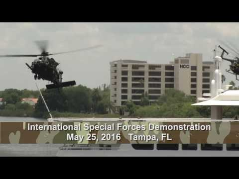 International Special Forces Operations Demonstration 2016