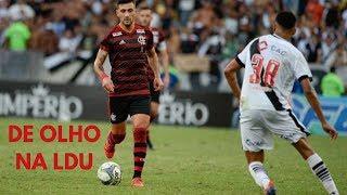 Flamengo finge que vai pensar na LDU só depois da final com o Vasco