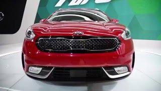 Kia Niro Hybrid 2017: характеристики, цена, фото, видео