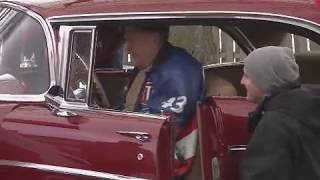 Grandson surprises grandfather with restored '57 Chevy Bel Air