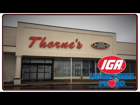 Abandoned Thorne's IGA Supermarket Alliance Ohio - Exploring with Wallieb26