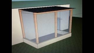 Construção do meu viveiro para calopsitas!