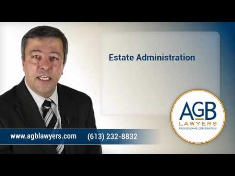 Ottawa Estate Administration - AGB Lawyers