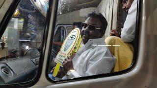 பிரசாரத்தில் விஜயகாந்த்Vijayakanth camping PMK sampaul in Central Chennai