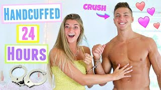 Handcuffed to my Crush for 24 Hours! We Lost the Key*