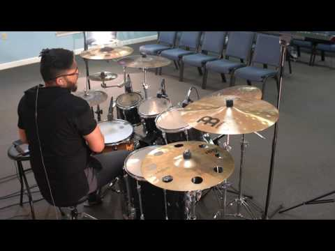 Falling Into You - Hillsong Y&F Drum Cover by Juan Sebastian Cuentas
