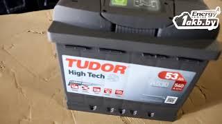 Tudor 53 Ач, 540А