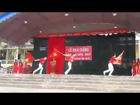 Múa Vươn cao Việt Nam - Trường THCS Trung Hội - Định Hóa - Thái Nguyên