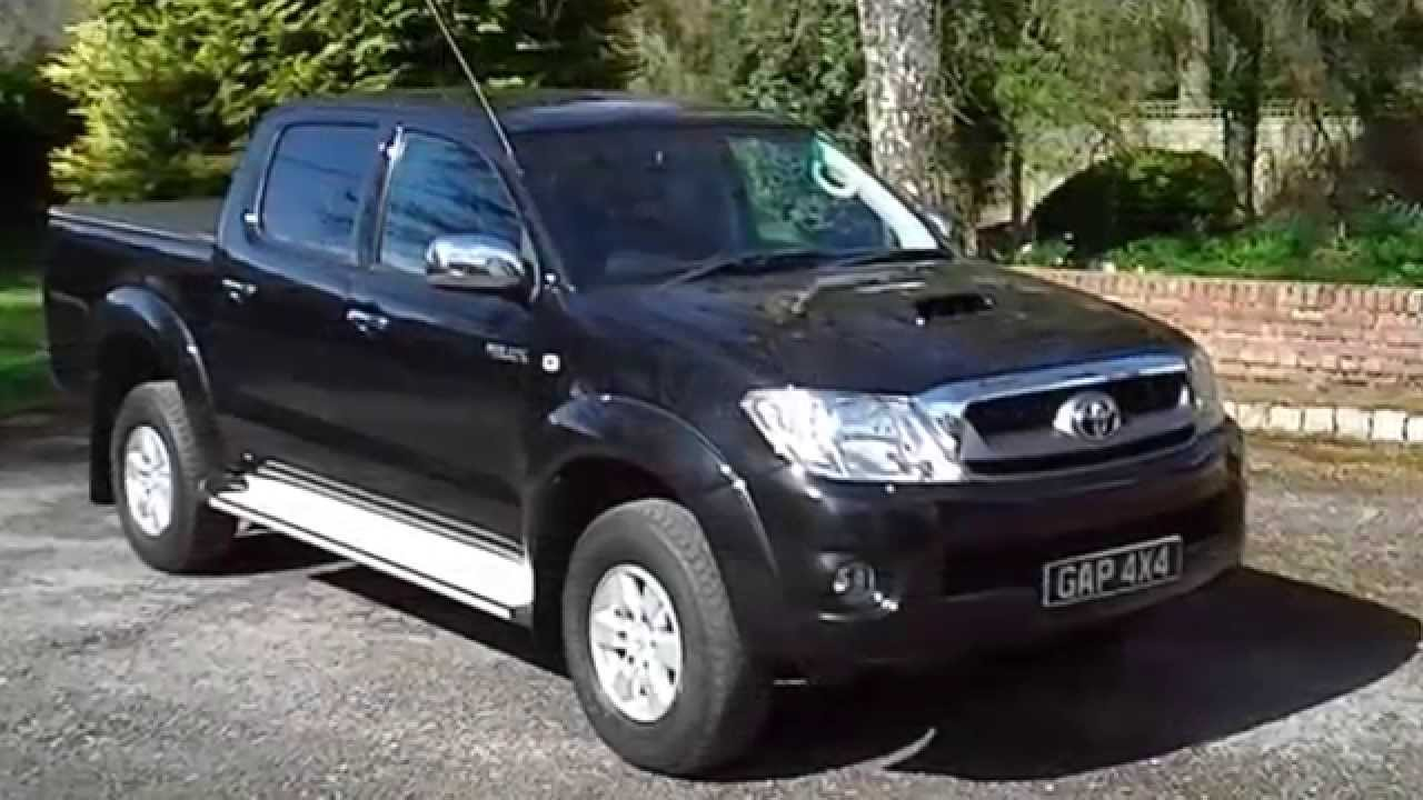 black toyota hilux 3 0 d4 d hl3 le manual 2010 59 with grey leather rh youtube com toyota hilux 2010 service manual toyota hilux 2010 maintenance manual