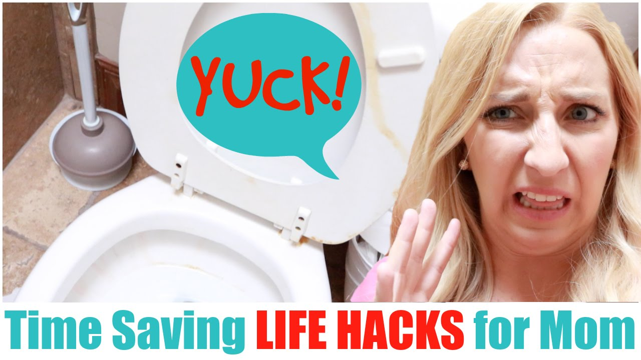 Life Hacks For Moms Time Saving Life Hacks For Moms Youtube