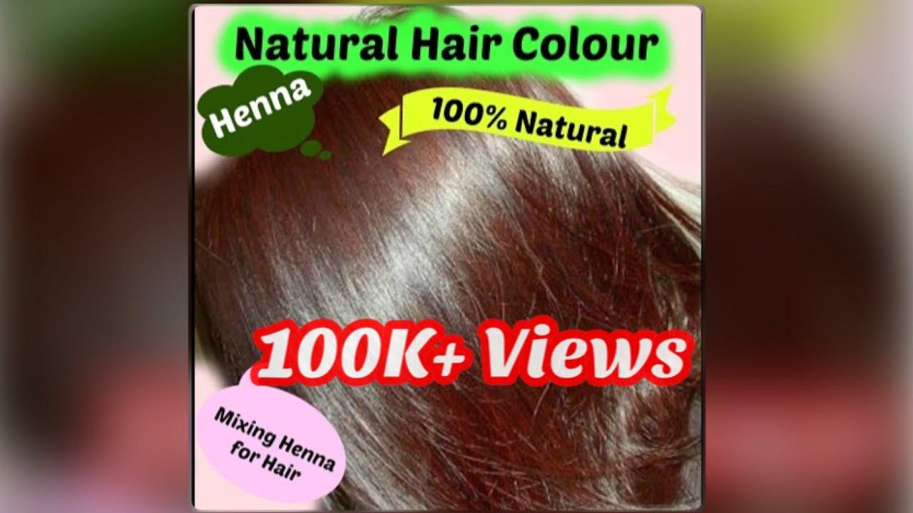 Henna For Hair In Telugu Youtube