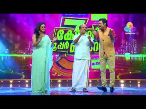 Comedy Super Nite - 3 with Mamukkoya│Flowers│Ep# 09