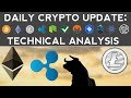 CRYPTOS TO THE MOON! XRP, LTC, ETH UP BIG!!! (12/12/17) Daily Update + Technical Analysis