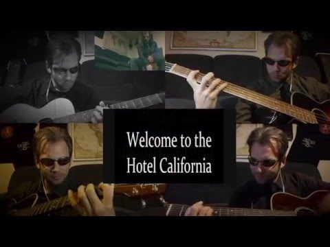The Eagles - Hotel California - Karaoke style - cover by JMB