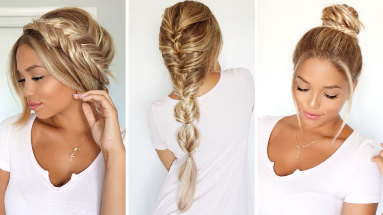 3 Different Ways To Rock A Fishtail Braid Ft Foxy Locks Extensions