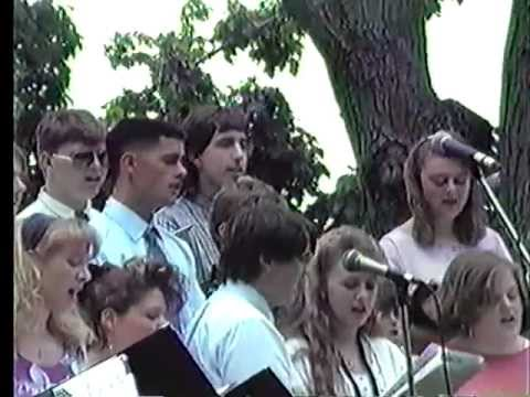 We're Gonna Lift You Up - Sung by the Kingswood Regional High School Chorus in 1991 (Wolfeboro, NH)