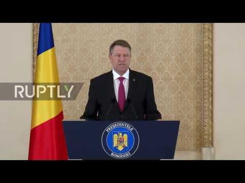 Romania: President Iohannis rejects Muslim PM candidate