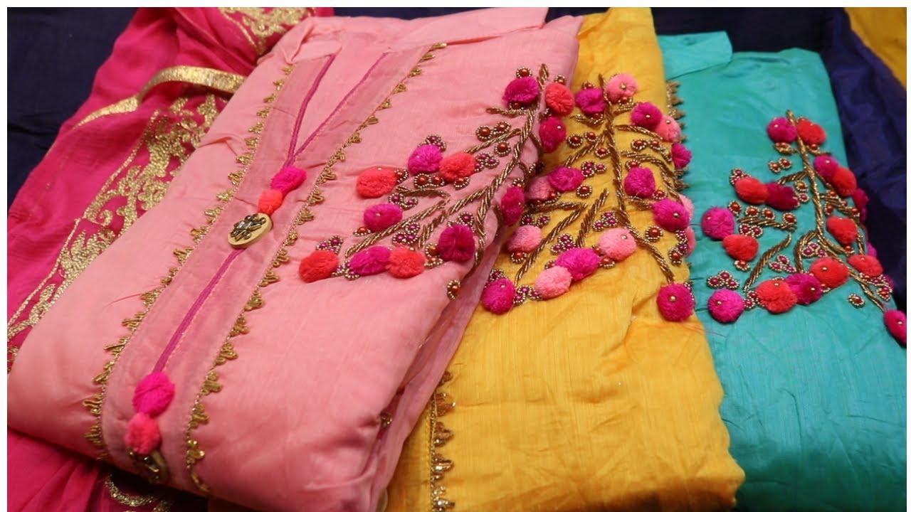जेसा दिखाया है बेसा ही मिलेगा , पक्के रंग वाले सूट , फुल गारेंटी वाले सूट , 225 रु में