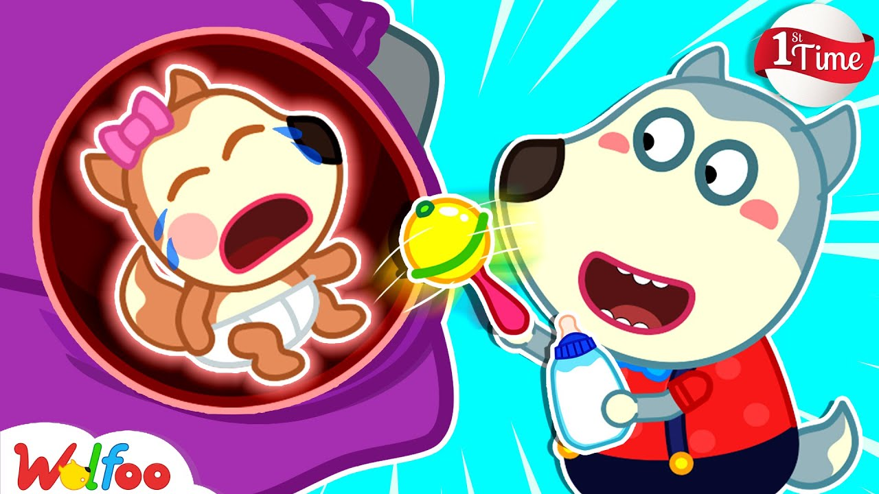 Download First Time Wolfoo Takes Care of Baby - Kids Stories About Baby Lucy | Wolfoo Family Kids Cartoon