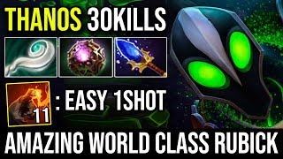 Rubick is the New Thanos - 1Shot Enemy With 11Stacks Finger of Death World Best Rubick Player Dota 2