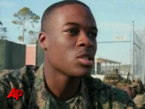 Marine With Haitian Ties Ready to Help His Homeland