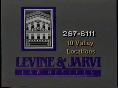 1982 Lavine and Jarvi Law Firm Offices TV Commercial Phoenix