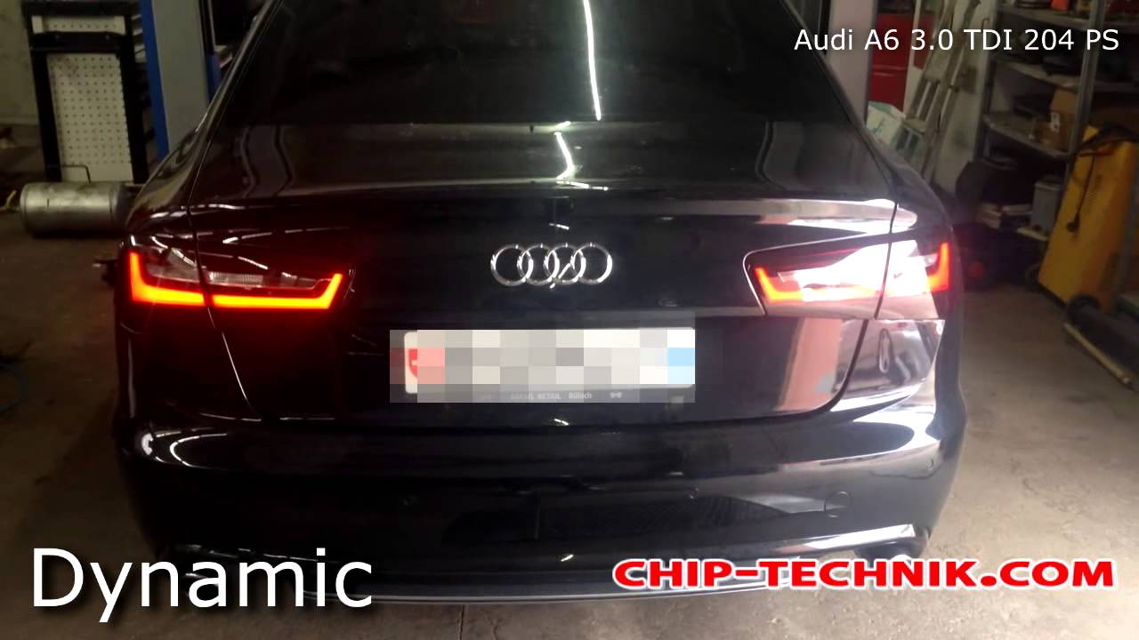 Audi A6 4G 3.0 TDI 204 PS Active sound - YouTube