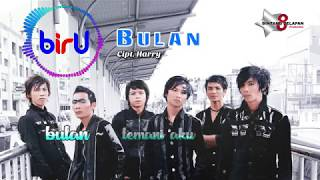 Biru Band - Bulan [ Official Lyric Video ]