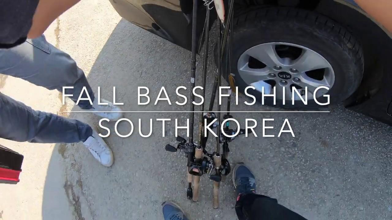 Fall Bass Fishing in South Korea