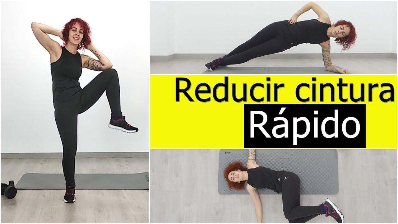 ejercicios para adelgazar la cintura rapido