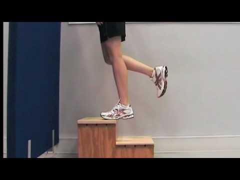Eccentric calf muscle exercises for Achilles tendinopathy ...