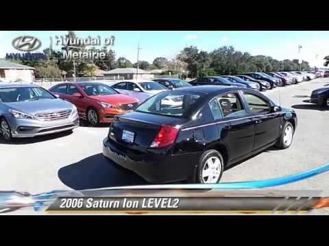 Used 2006 Saturn Ion Level2 Metairie Youtube