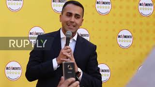 "Italy: Luigi Di Maio in Five Star""s protest against his own government"
