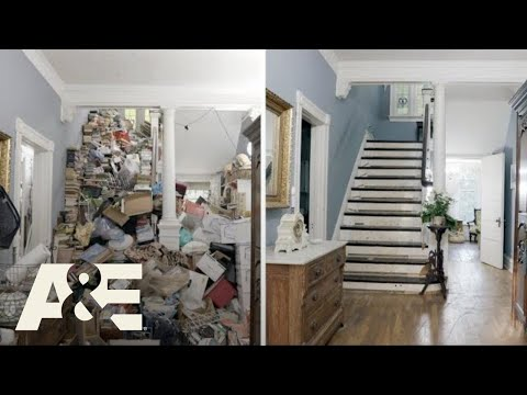 Hoarders: Before & After: Carol's 3-Story Mansion   A&E