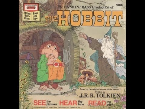 See, Hear and Read-Along - Rankin/Bass - The Hobbit