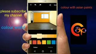 Colour with Asian paints.a mobail app by Android application-2018