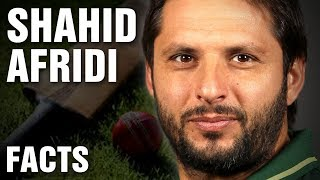 12 Surprising Facts About Shahid Afridi
