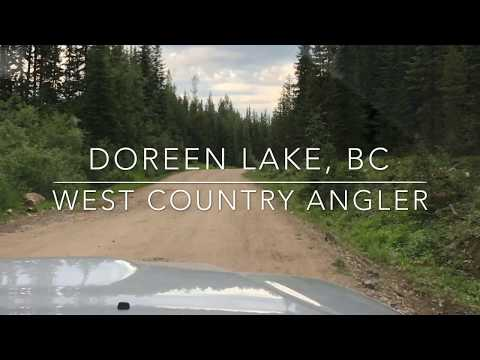Fly Fishing On Lake Doreen, Okanagan, BC