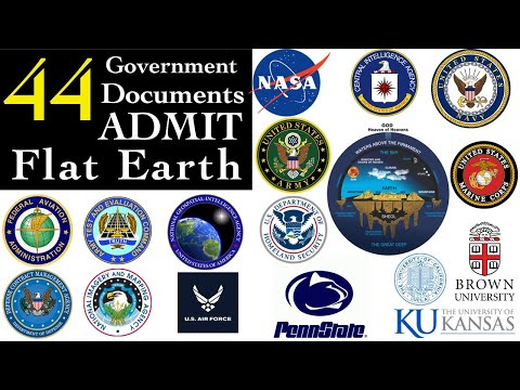 44 Government documents admit FLAT EARTH! thumbnail