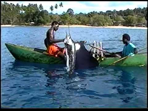 Sailfish Fishing From Outrigger Canoes - Buka Island, Papua New Guinea (2005)
