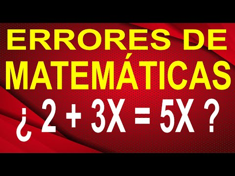 MIL MANERAS DE FALLAR EN MATEMÁTICAS |  Cuando Sumas Números Y letras (Variables)