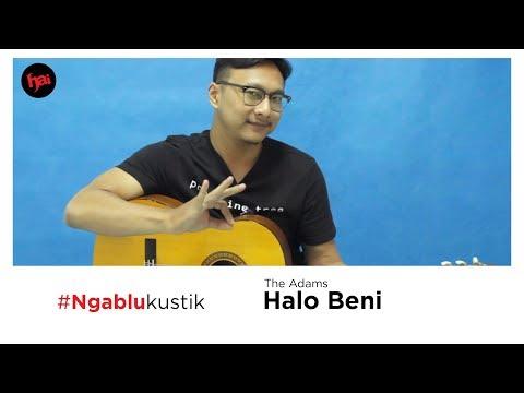 Tutorial Chord Gitar Halo Beni - The Adams