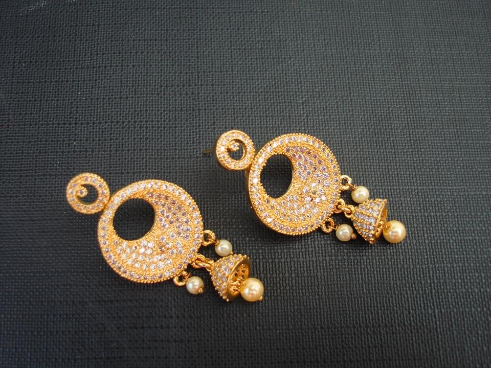 Latest 1 Gram Gold Earrings Collection