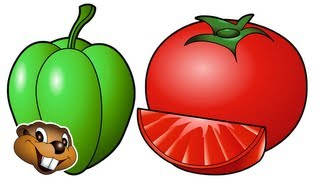 """Vegetable Song"" - Kids Learn Vegetable Names, Teach Nursery Children Veggie Song"