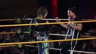 Bayley does Finn Balor's Entrance & More 2/6/16 NXT Indy