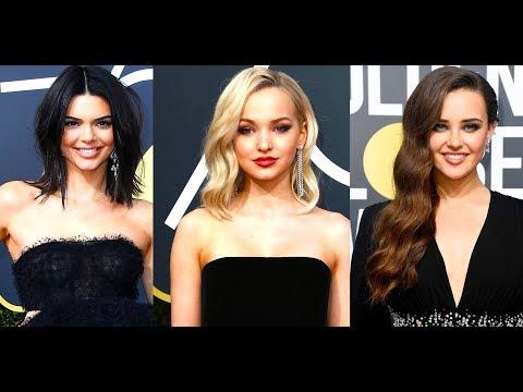¡Las 7 Mejores Vestidas de Negro de los Globos de Oro 2018!