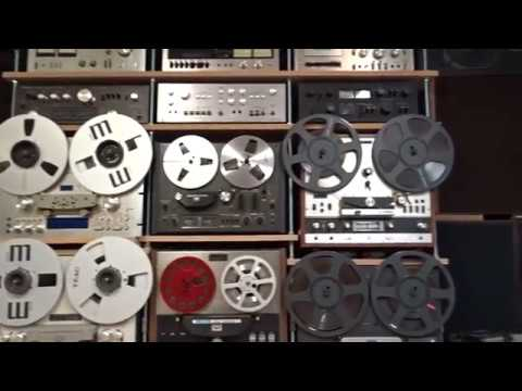 My Vintage Hifi Collection 2019 Marantz Pioneer Technics Akai Sansui Sony Kenwood Teac Nad ...