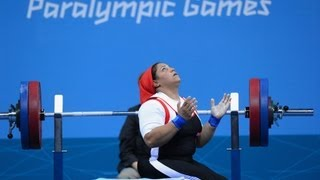 Powerlifting highlights - London 2012 Paralympic Games